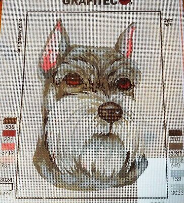 SCHNAUZER - Tapestry/Needlepoint to Stitch (NEW) by GRAFITEC