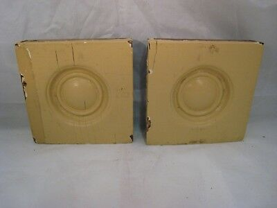 Wood Bullseye Moulding Antique Pair For Windows Doors Architectural Salvage 4