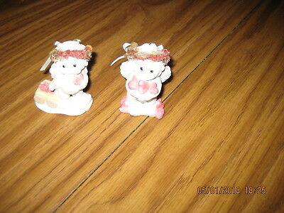 Two Dreamsicles Figurines 12093 Let's Play & Dx254 Gingerbread House