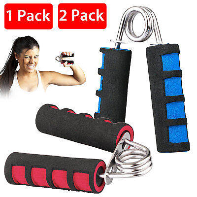 2X Exercise Foam Hand Grippers Forearm Grip Strengthener Grips heavy ONE PAIR