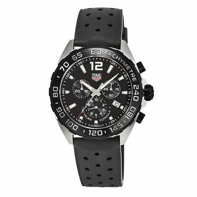 New Tag Heuer Formula 1 Quartz Chronograph Black Men's Watch CAZ1010.FT8024