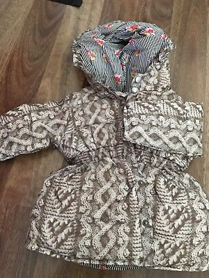 Girl's  ^~^PAPER WINGS^~^ Winter Coat Jacket  Size 6 months  00