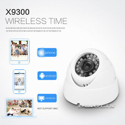 CCTV WiFi Wireless HD 1080P IP Camera Home Security Network System Night Vision