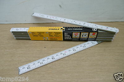 Stabila 1607 2Metre Metric & Imperial Wooden Folding Rule