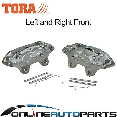 2 Front Brake Calipers suits Landcruiser 1980-1/1990 40 45 60 70 75 Series Disc