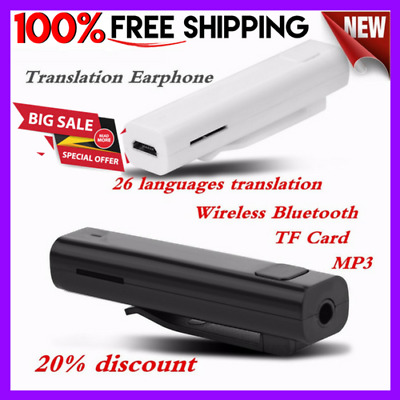 Smart voice translator 26 Language Instant Automatic Speech Travel Translator