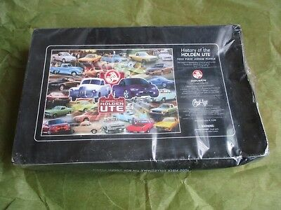 collectable BNIB Holden Ute 100 piece jigsaw puzzle in tin Fathers Day