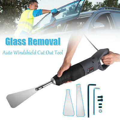 220-240V Electric Auto Glass Windshield Windows Removal Cut Out Extractor Tool