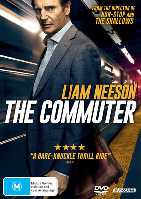The Commuter DVD R4 New!
