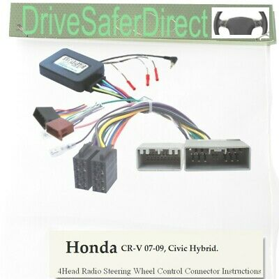 SWC-2851-01J Steering Wheel Control,ISO-JOIN for Chinese Radio/Honda CR-V 07-09