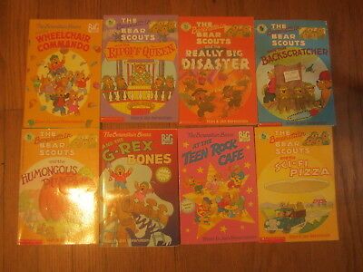 THE BERENSTAIN BEARS - CHAPTER Books (8) - Reading Level 2 RL PB EUC