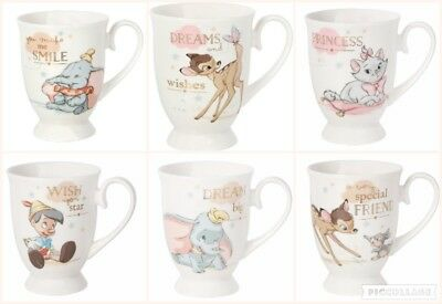 Disney Magical Moments Mug MARIE DUMBO PINOCCHIO BAMBI Coffee Mug Gift Boxed