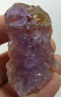 244.40Ct Brazil 100% Natural Rough Uncut Ametrine Crystal Specimen 48.85g 52mm