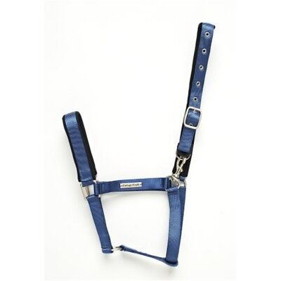 Cottage Craft Turnout Safe Headcollar - Blue, Full - Field Colours Horse