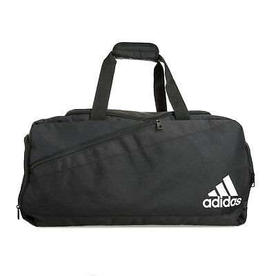 adidas performance Sports Team Holdall Bag in Black - M From Get The Label