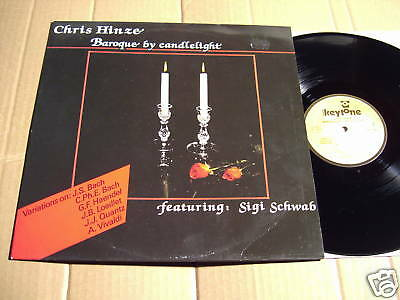 Chris Hinze - Baroque By Candlelight - Lp           (2)