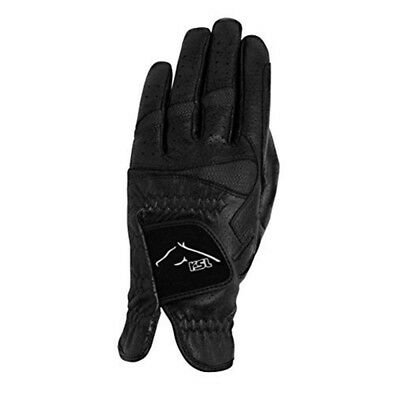 Ascot Pittards Leather Riding Gloves, Black, 10 - Rsl Gloves Black Size Usg