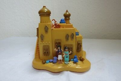 ♥ BLUEBIRD POLLY POCKET ♥ Disney Aladdin Agrabah Marketplace komplett! ♥ 1995