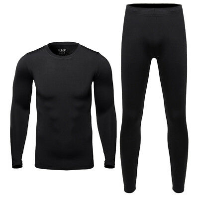 Motorcycle Base Layers Men's Thermo Underwear Tight Johns Motocross Top & Pants