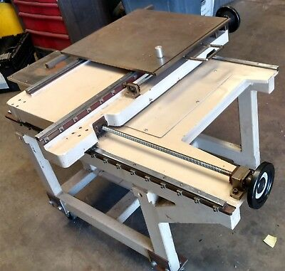 """20"""" X Y Positioning Table CNC Sliding Axis Cross Slide"""