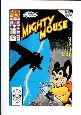 MIGHTY MOUSE #1 1990 MARVEL The Dark Might Returns VG