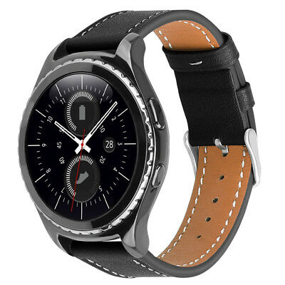 For Samsung Gear Sport / Gear S2 Classic Watch Band Leather Strap Wrist Bands