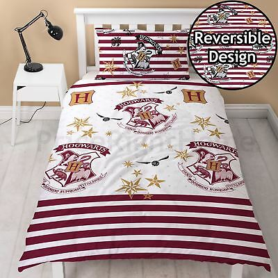 Harry Potter Muggles Single Duvet Cover Set Bedding New