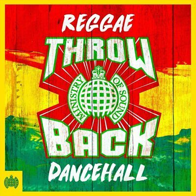 THROWBACK REGGAE DANCEHALL (Ministry of Sound) 3 CD SET (New & Sealed) (2018)