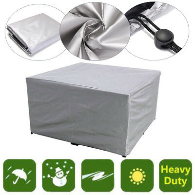 Large Waterproof Furniture Sofa Chair Cover Garden Outdoor Patio Protector 7Size