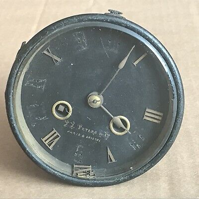 Vintage Raingo Freres French Mantle Clock Movement - 2 Train Frères - J J Peters