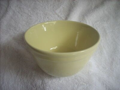 Fowler Ware Yellow Mixing Bowl Size 24
