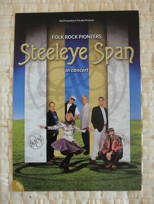 Steeleye Span Flyer - Tour Flyer - March 2013 -. Large Flyer