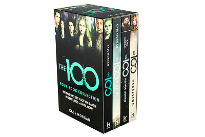 The 100 Four Book Collection Kass Morgan, The 100, Rebellion, Homecoming, Day 21