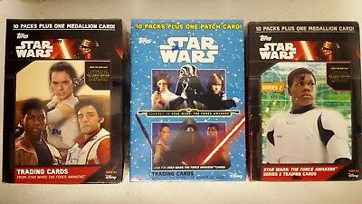 STAR WARS JOURNEY TO FORCE AWAKENS Trading Card BLASTER BOX X 3 topps 2015 2016