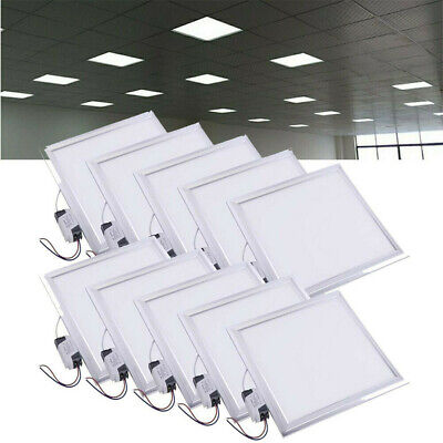 10x 48W Ceiling Suspended Recessed LED Panel Lights Home Office Lighting 600x600