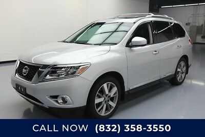 Nissan Pathfinder Platinum 4dr SUV Texas Direct Auto 2014 Platinum 4dr SUV Used 3.5L V6 24V Automatic FWD SUV Bose