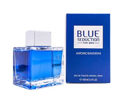 Blue Seduction for Men by Antonio Banderas 3.4 oz EDT Cologne for Men New In Box