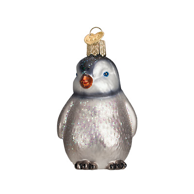 """Penguin Chick"" (Standing) (16102)X Old World Christmas Glass Ornament w/OWC Box"