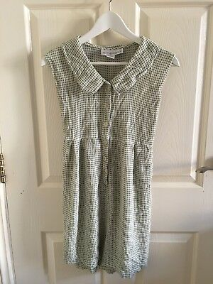 Vintage Playsuit, Green White Square. Urban Renewal At Urban Outfitters. Size M.