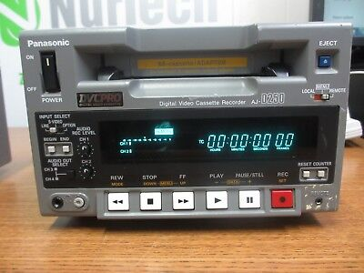 Panasonic Digital Video Cassette Recorder AJ-D250P