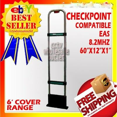 CHECKPOINTCompatible 8.2Mhz EAS Antenna Anti + BASEPLATE Theft-KETEC-MADE IN USA