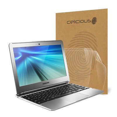 Celicious Vivid Samsung Chromebook 11.6 Invisible Screen Protector [Pack of 2]