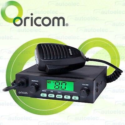 Oricom Uhf025 Uhf Radio 80 Ch 5 Watt Cb Radio In Vehicle Truck Car 4X4 4Wd New