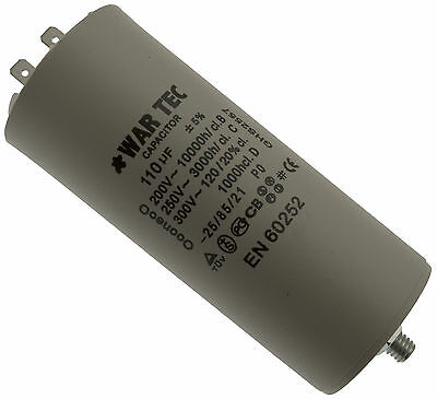 Capacitor 110V Fits BELLE Mini Mix 150 Cement Mixer