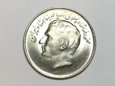 MIDDLE EAST KM1196 SH1353 1976 10 Rial coin BU