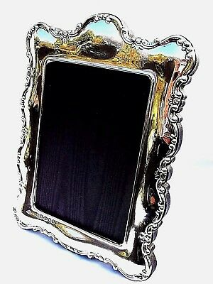 Large Beautiful Finest 999 Quality Hallmarked Silver London Britannia PhotoFrame