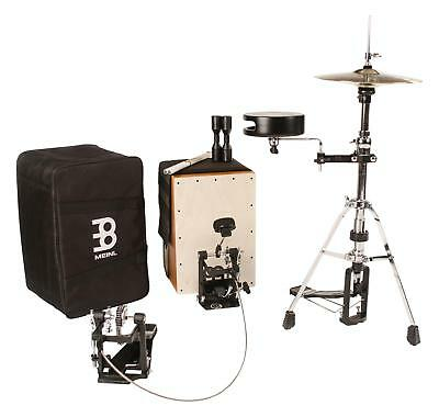 Meinl CAJ-DRUMSET Cajon Drumset Pedal Snare HiHat Tasche Shaker Rods Schlagzeug