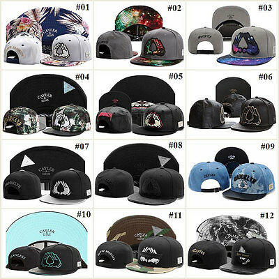 2019 Ladies Mens Unisex Hip-Hop adjustable Bboy Baseball Snapback Hats Sun Caps