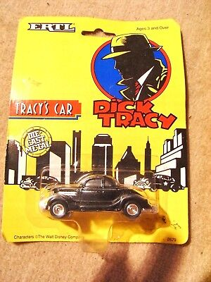 """Ertl - Dick Tracy """" Tracy`s Car  """" , Blisterpackung ,  1990"""
