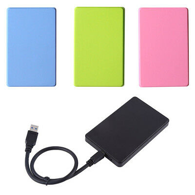 Portable USB 3.0 1TB External Hard Drives Desktop Mobile Hard Disk Case CHL